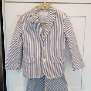 Stripped Nautica suit 4T